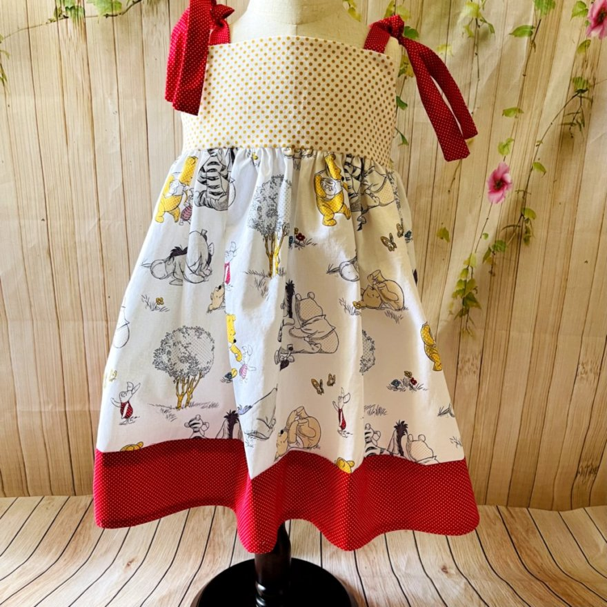 Pooh Bear and Friends Dress