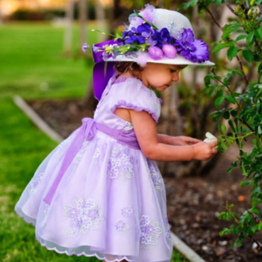 Easter Bonnet Tea Party Hat