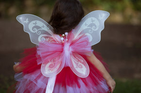 Peppermint Swirl Christmas Fairy Tutu Dress Costume