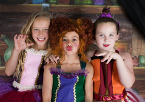 Hocus Pocus Inspired Witch Sister Costumes