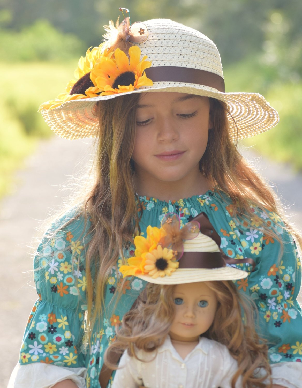 Sunflower Hat  Easter Bonnet