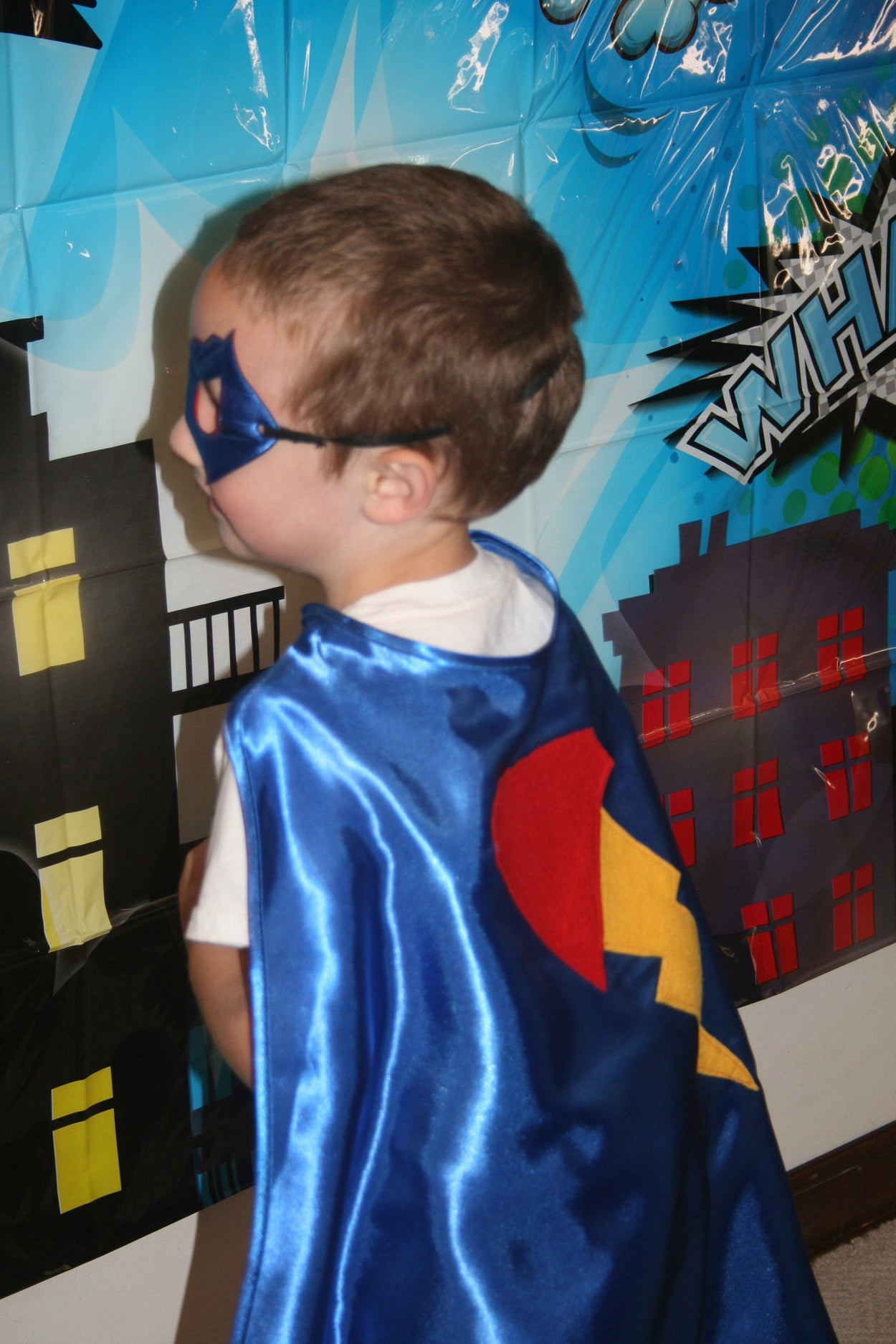 Personalized Super Hero Cape Party Favor