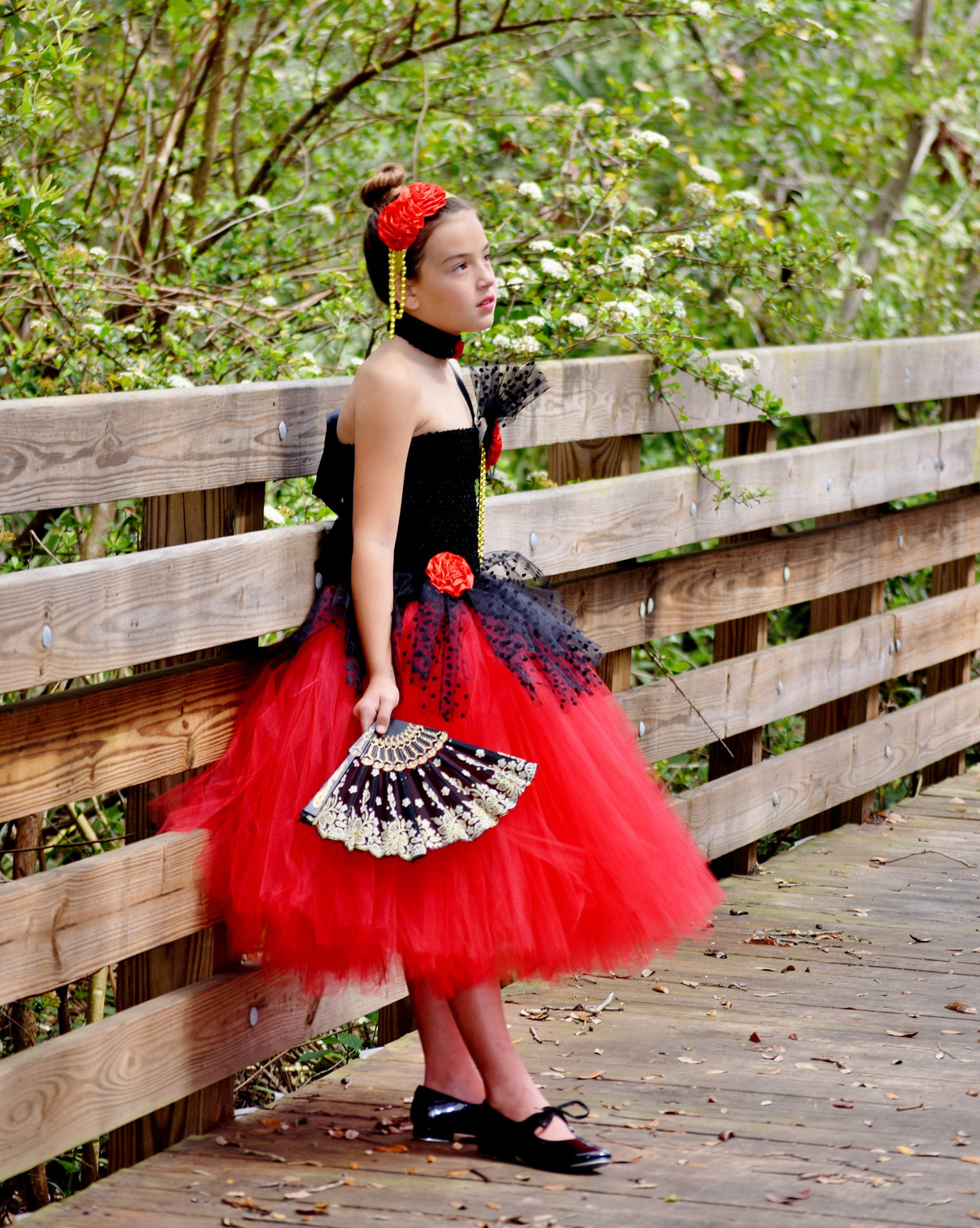 Spanish Nutcracker Inspired Tutu Dress