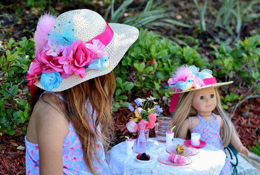Easter Bonnet for Girls Kentucky Derby Hat for Woman