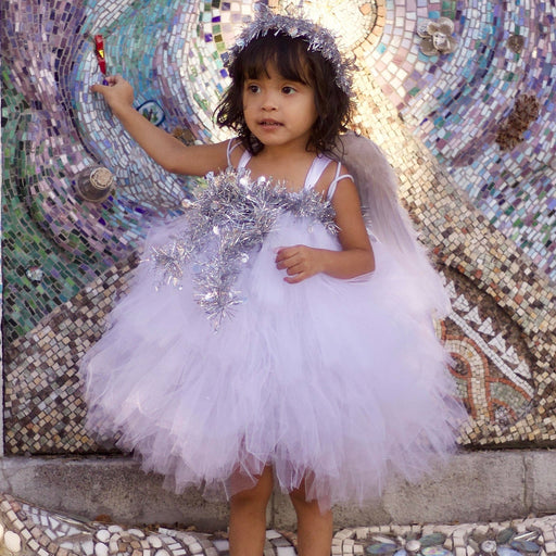 Angel Inspired White Tutu Dress