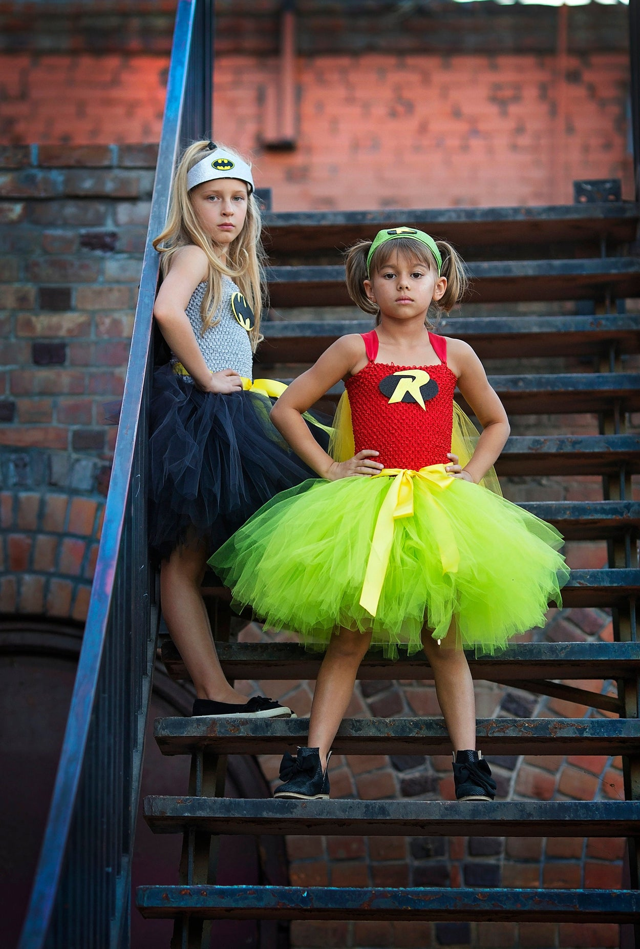 Girls Batman Superhero Tutu Costume