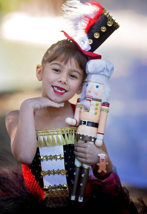 Nutcracker Tutu Dress and Soldier Hat