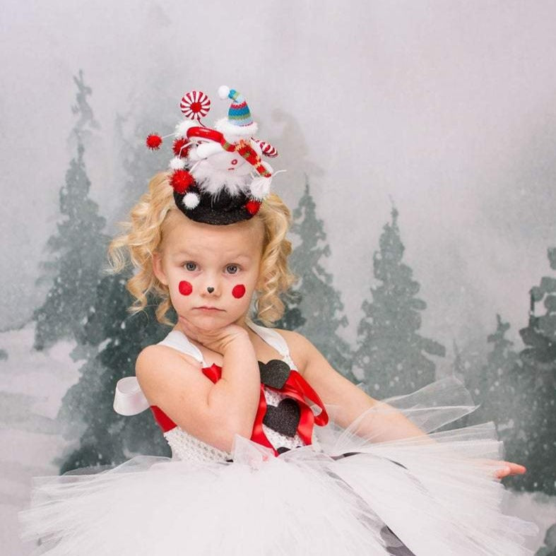 Frosty The Snowman Winter Holiday Tutu Dress