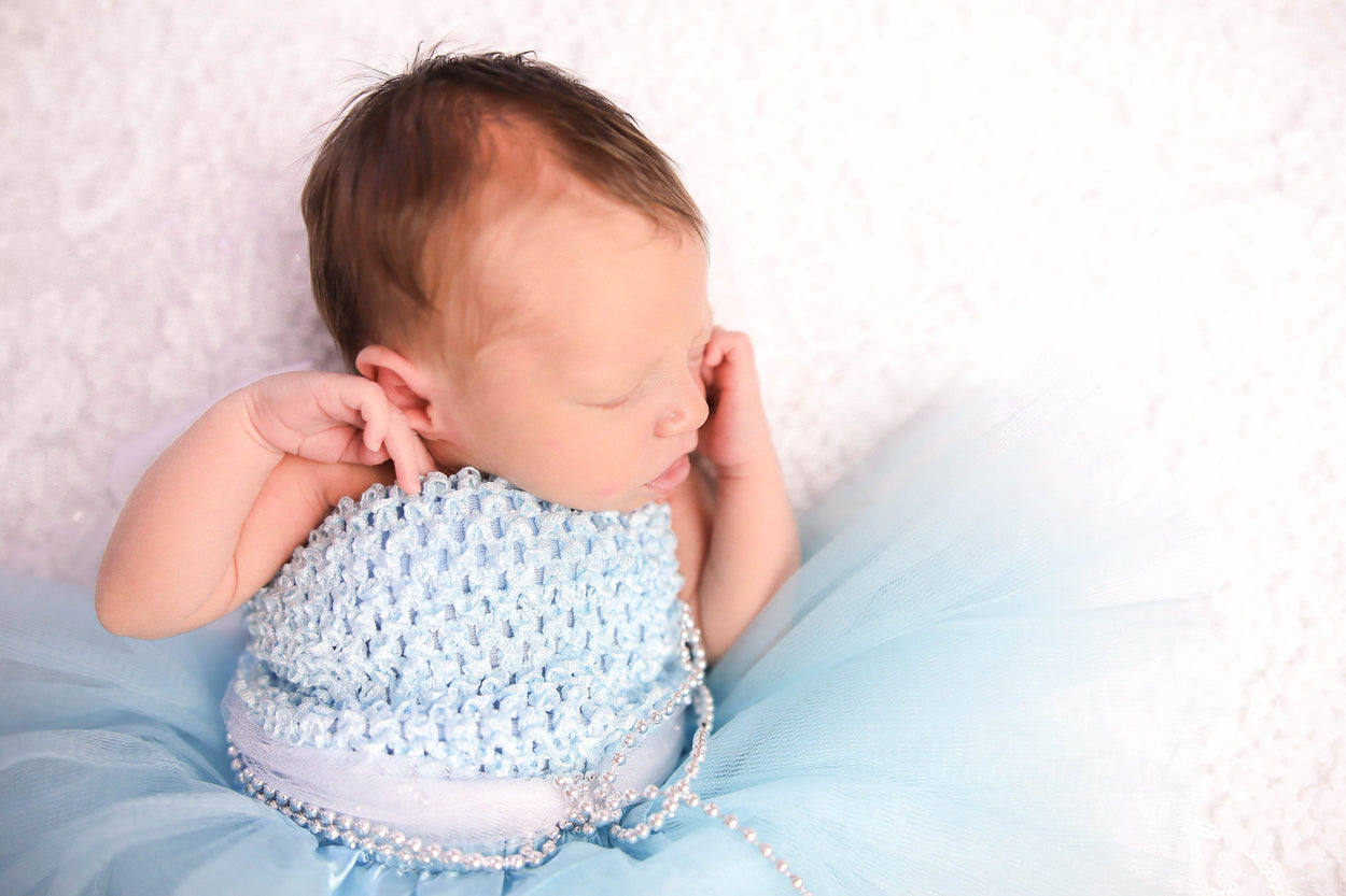 Cinderella Inspired Newborn Baby Princess Outfit