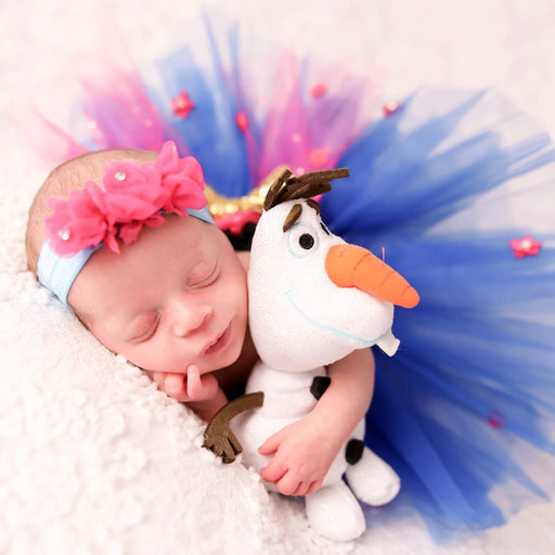 Anna Inspired Frozen Newborn Princess Outfit