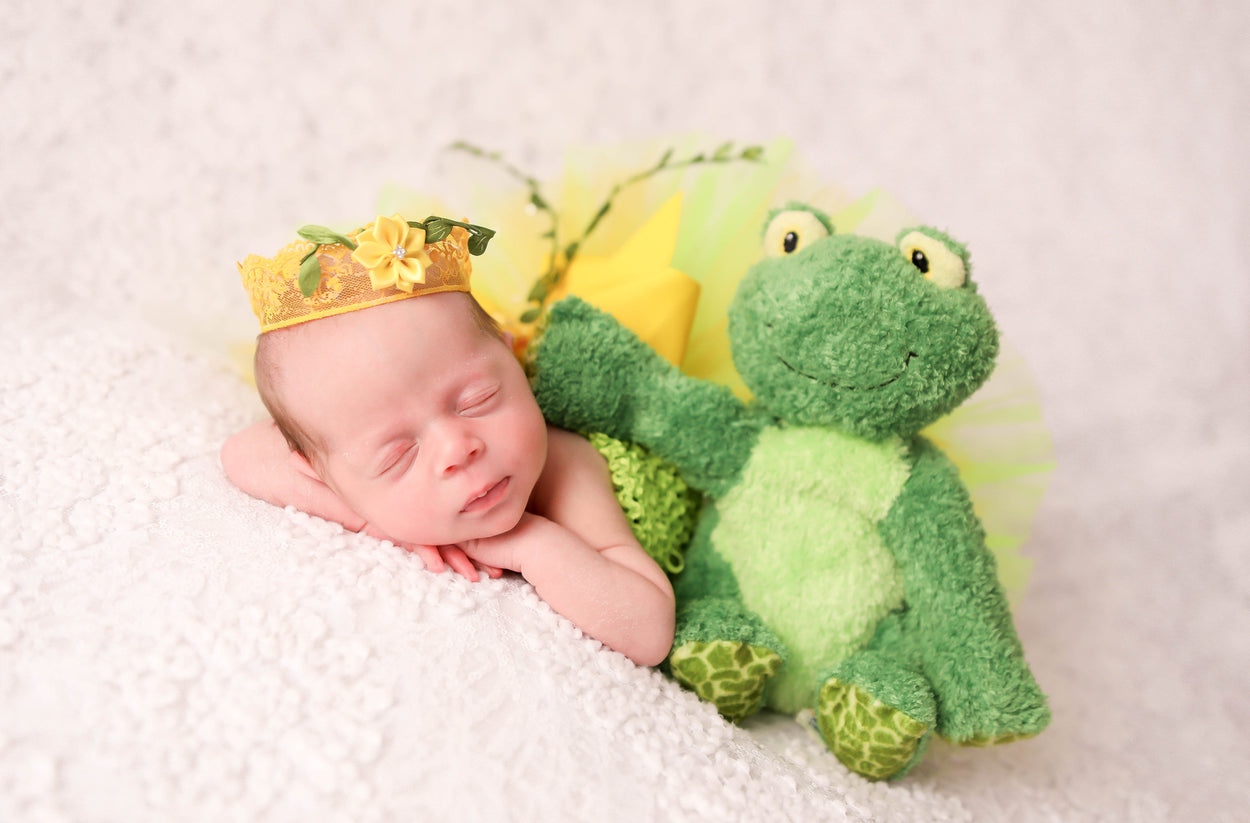 Newborn Princess Tiana Inspired Outfit