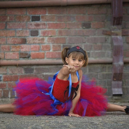 Spiderman Inspired Tutu Dress Costume