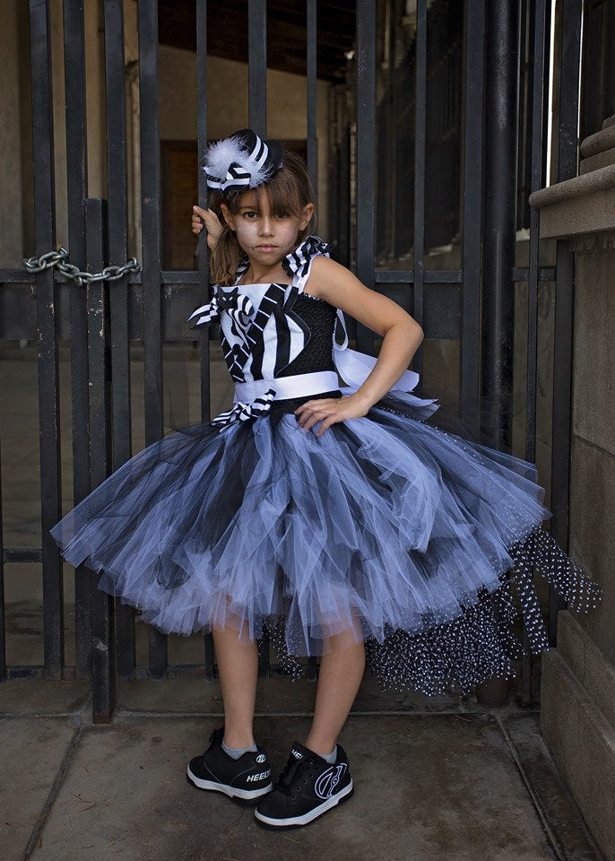 Nightmare Before Christmas Inspired Jack Skellington Tutu Dress Costume