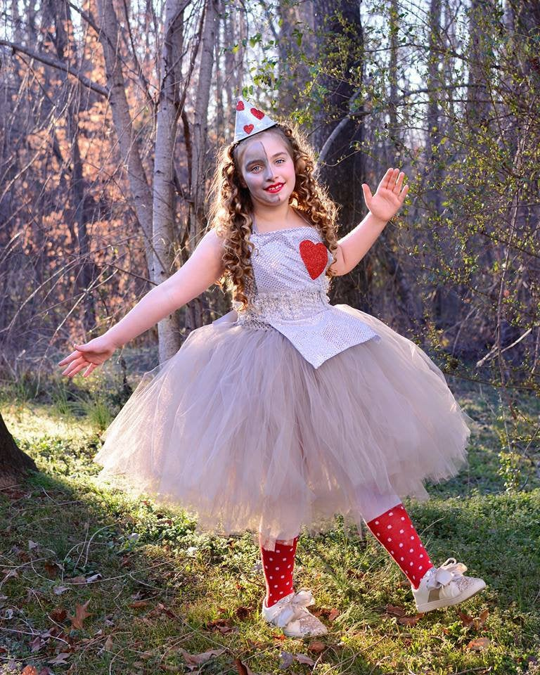 Wizard of Oz Tin Man Inspired Tutu Dress Costume