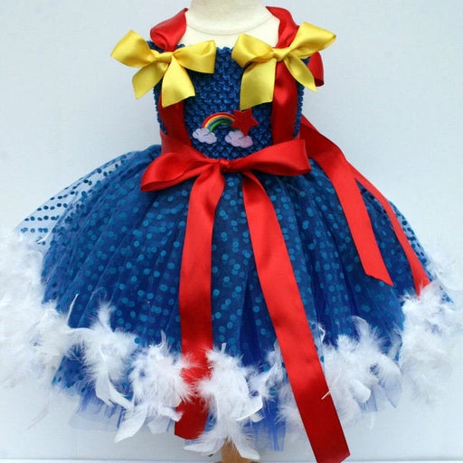 Rainbow Brite Inspired Tutu Dress Costume