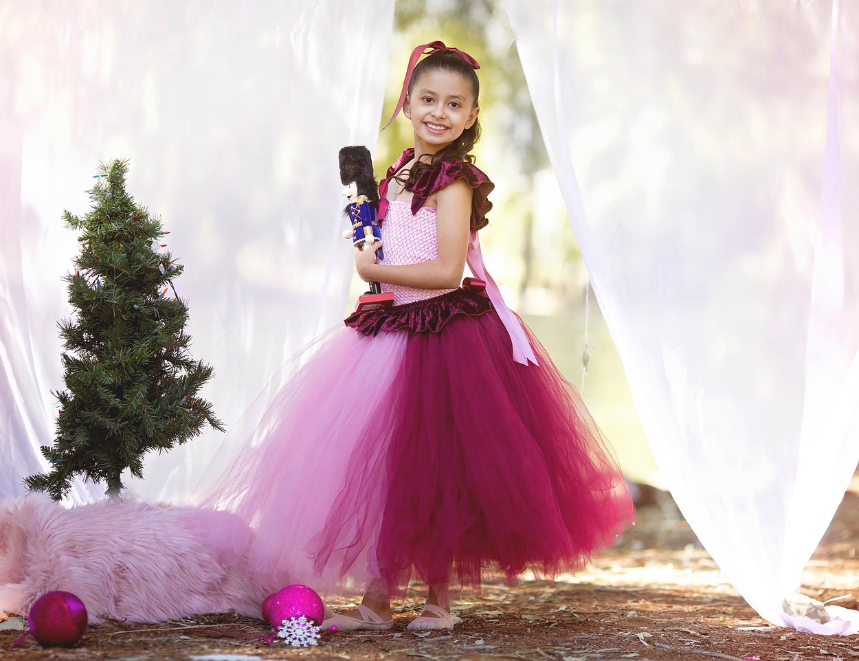 """Clara"" The Nutcracker Inspired Ballet Tutu Dress"