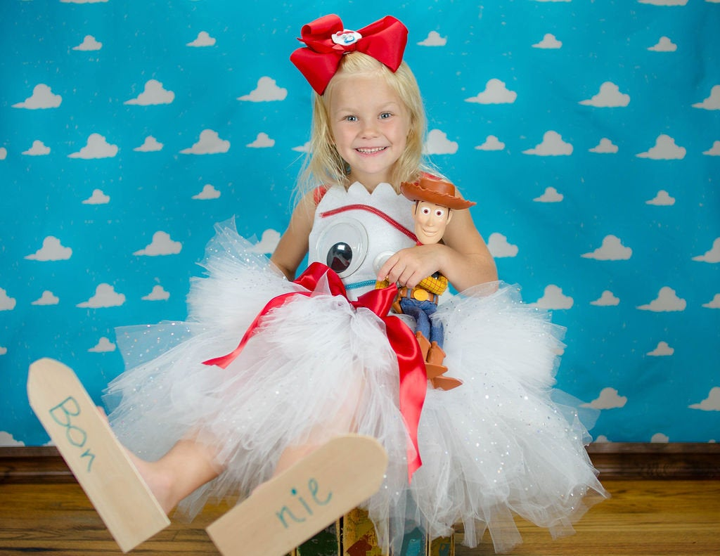 Forky Inspired Toy Story Tutu Dress Costume