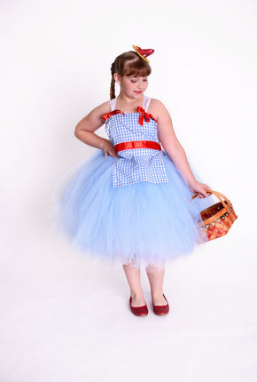 Dorothy Wizard of Oz Inspired Tutu Dress Costume