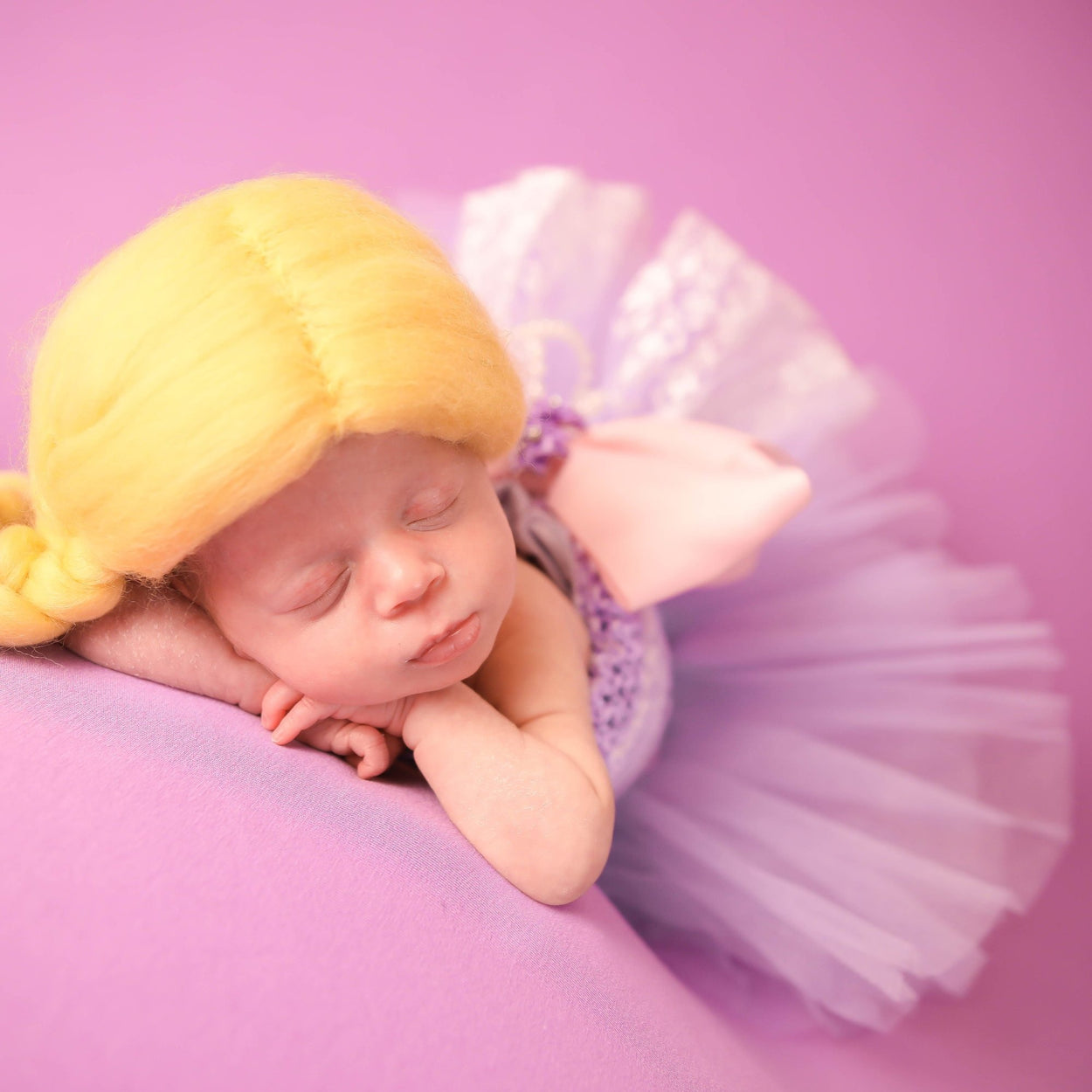 Rapunzel Inspired Newborn Princess Outfit