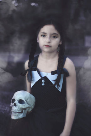 Wednesday Addams Inspired Tutu Dress Costume
