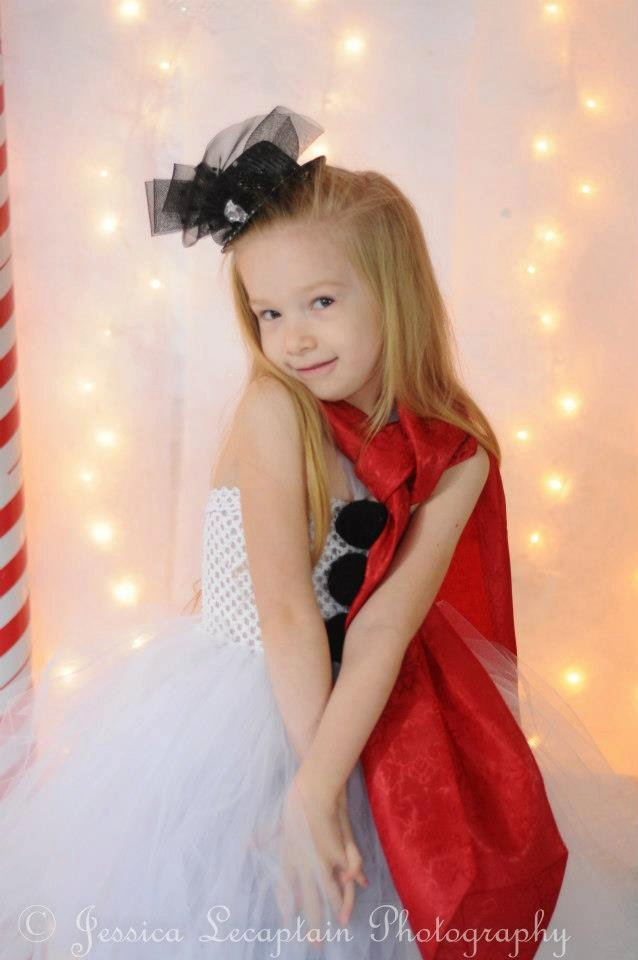 Frosty the Snow Man Inspired Tutu Dress Costume