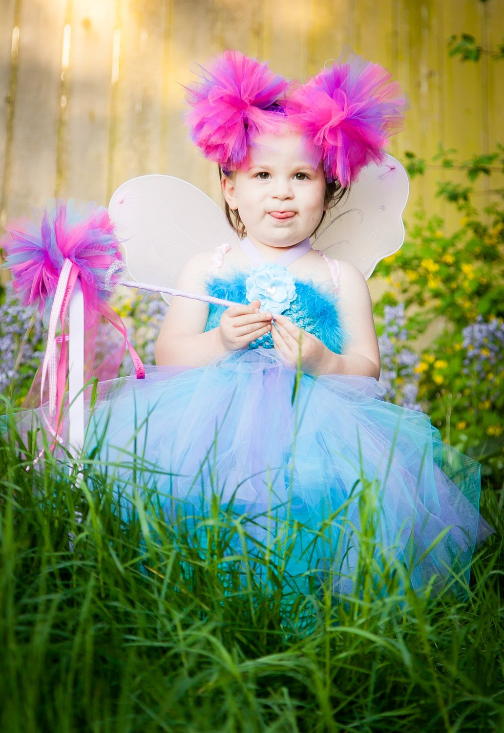 Abby Cadabby Inspired Fairy in Training Tutu Dress Costume