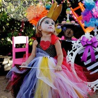 Queen of Hearts Inspired Tutu Dress Costume