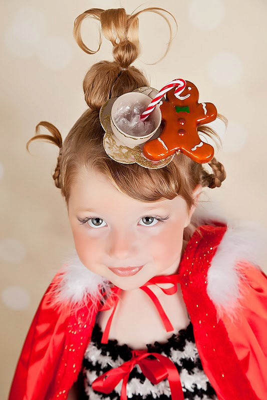 Cindy Lou Who Inspired Teacup Headpiece