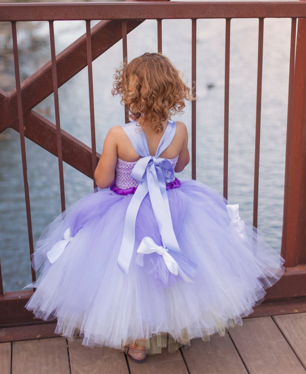 Purple Princess Tutu Dress Costume