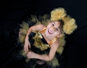 Queen Bee inspired LOL Doll Tutu Costume