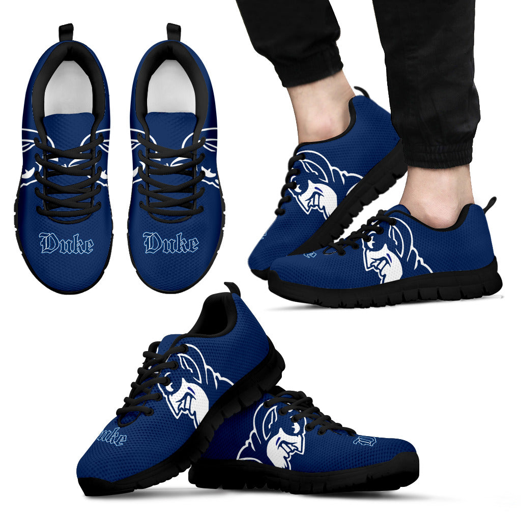688a6adf90e7 Duke Blue Devils NCAA Fan Custom Unofficial Running Shoes Sneakers Trainers
