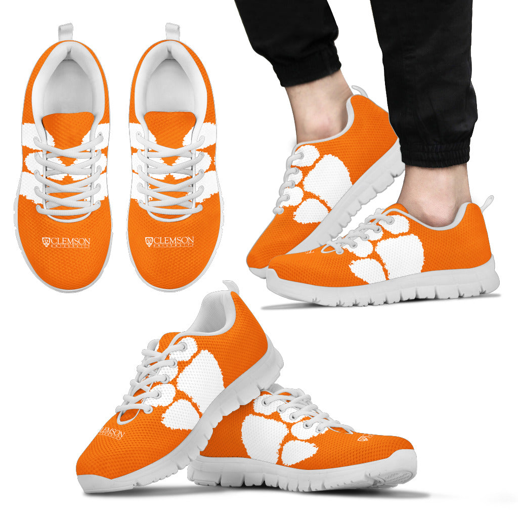 d6e854133 Clemson Tigers NCAA Fan Custom Unofficial Running Shoes Sneakers Trainers