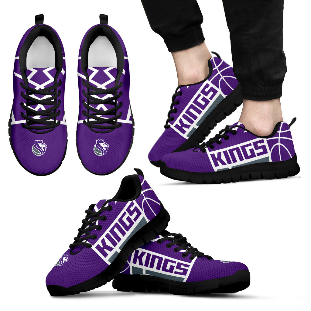 63040b32d645 Sacramento Kings Fan Custom Unofficial Running Shoes Sneakers Trainers