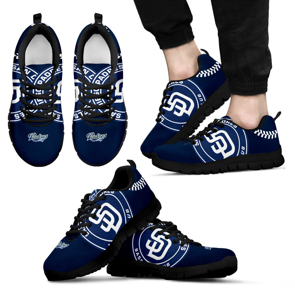 1a182f1f6bbc San Diego Padres Fan Custom Unofficial Running Shoes Sneakers Trainers