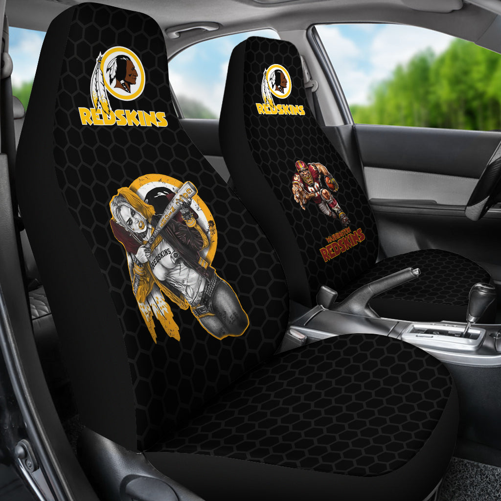 Outstanding Washington Redskins Baseball Mlb Micro Fiber Auto Seat Covers Suv Seat Covers Squirreltailoven Fun Painted Chair Ideas Images Squirreltailovenorg