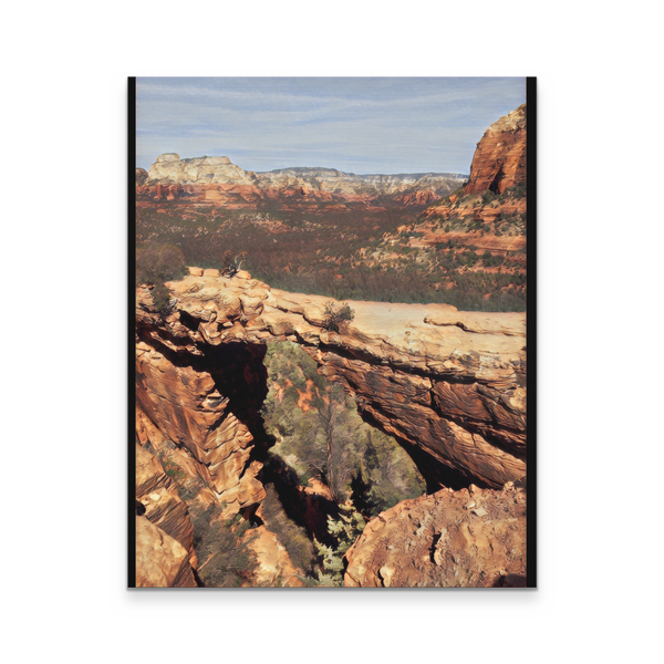 Sedona Devils Bridge 16x20 Canvas Print