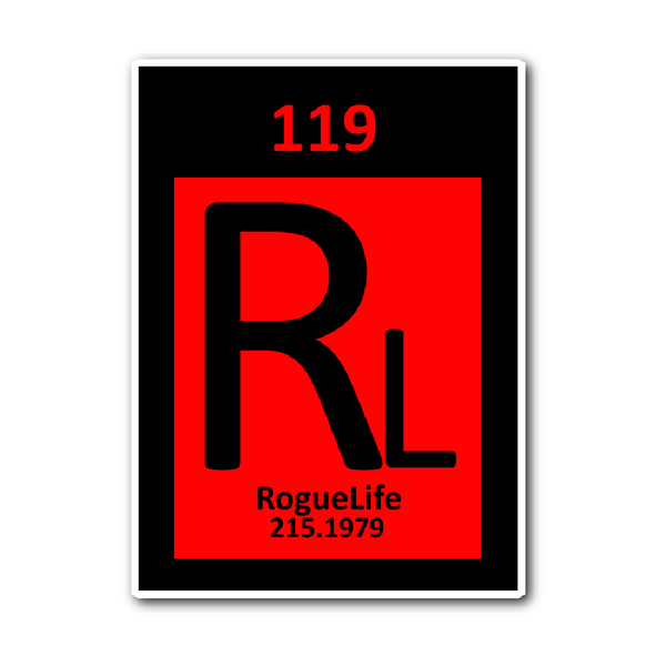 Rogue Life Element Decal