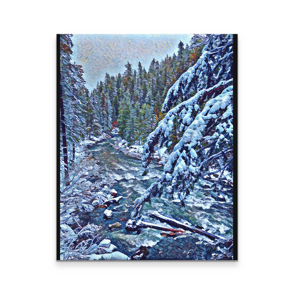 Rogue Gorge Serene 16x20 Canvas Print