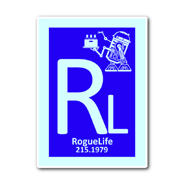 Rogue Life Droid Decal