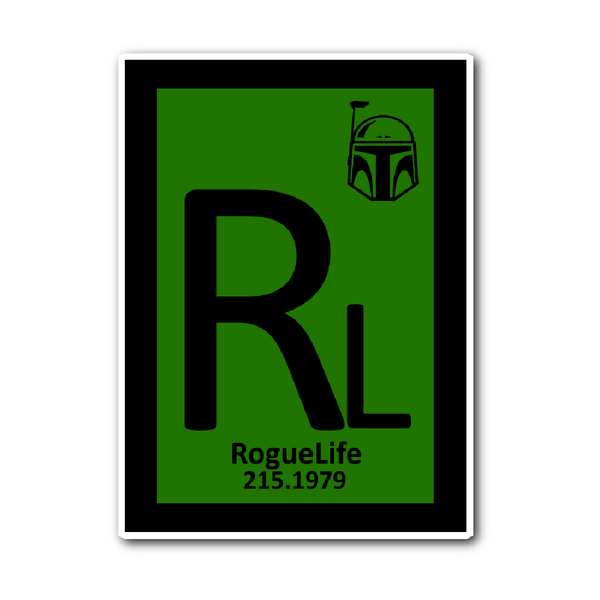 Rogue Life Bounty Hunter Decal