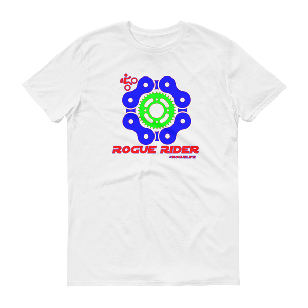 Rogue Rider unisex short sleeve t-shirt (XL-3XL)