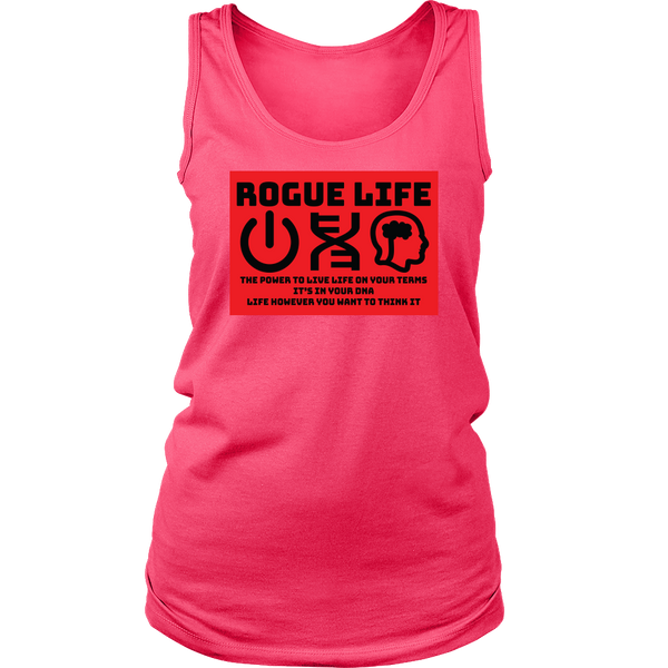 Rogue Life Power-DNA-Think Men's & Women's Tank Tops (colors)