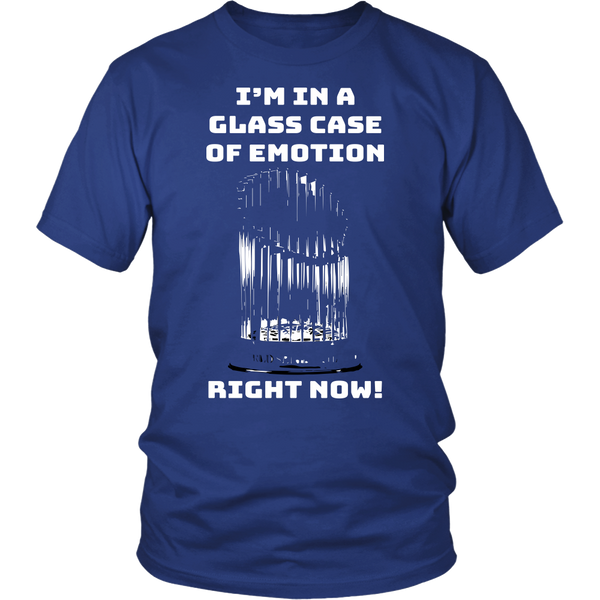 Chicago Cubs Glass Case Of Emotion T-Shirt