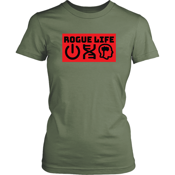 Rogue Life Symbolism Men's & Women's T's (colors)