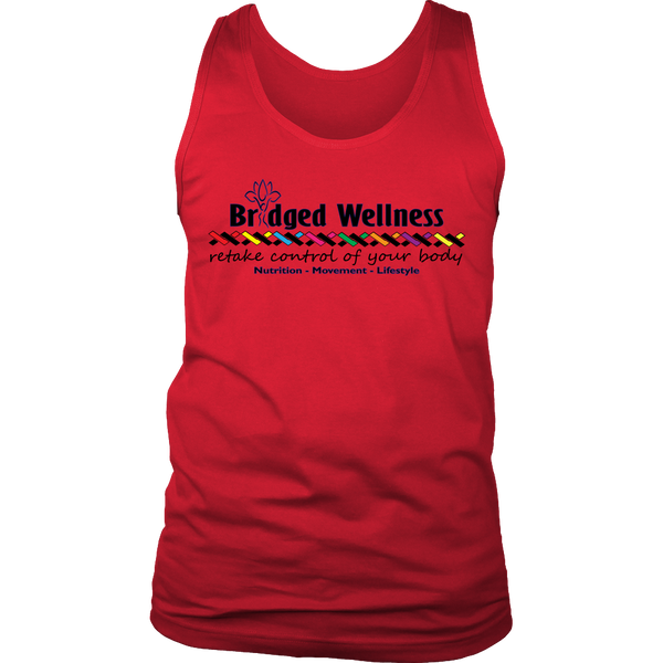 Bridged Wellness Cotton Men's Tank Top