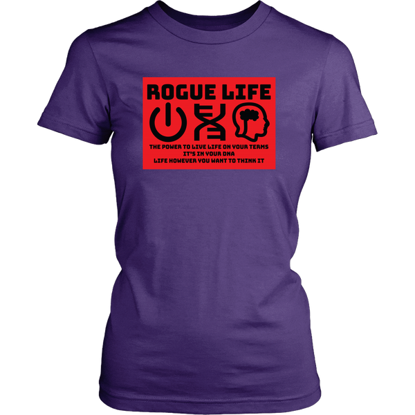 Rogue Life Power-DNA-Think Men's & Women's T's (colors)