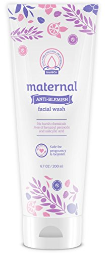 Maternal Anti-Blemish Face Wash 6.7oz – For Acne Prone And Problem Skin – Safe And Effective For Expecting Mom To Be And Beyond Pregnancy