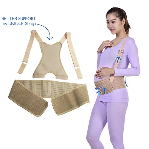 Maternity Belt, Belly Band for Pregnancy, Lower Back Maternity Support, Prenatal Cradle for Baby, Breathable Pregnancy Belt for Abdominal Area, Comfortable Pregnancy Pelvic Support Belt