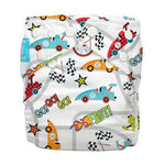 Charlie Banana Diaper 2 Inserts Racecar One Size Hybrid AIO
