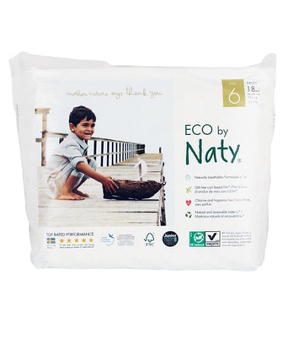 Naty Size 6 ML Training Pull On Pants
